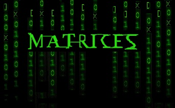 Datos, datos, datos formando Matrix